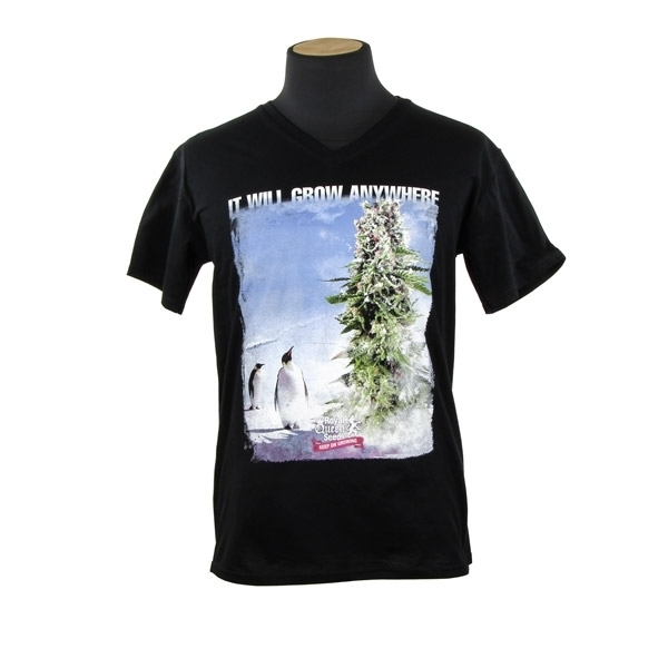 Royal Queen Seeds T-shirt Penguin