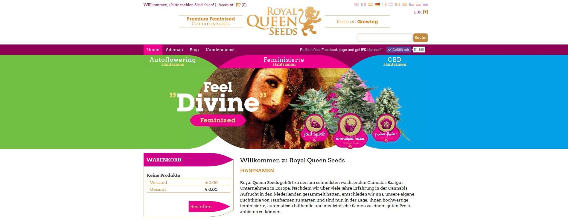 Royal Queen Seeds Germany
