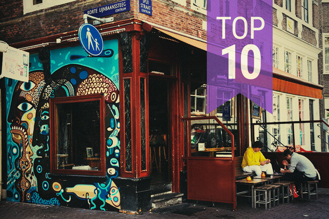 Top 10 Coffeeshops in Amsterdam